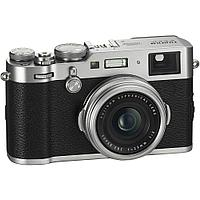 Цифровой фотоаппарат Fujifilm X100F 23mm f/2 Silver, фото 1
