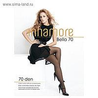 Колготки женские INNAMORE Bella 70 den, цвет чёрный (nero), размер 2