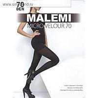Колготки женские MALEMI Micro Velour 70 den, цвет загар (daino), размер 4
