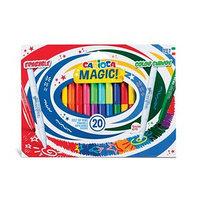 Фломастеры меняющие цвет/стираемые Carioca 'Magic Markers', 18 цветов 2, 20 штук, картон, европодвес