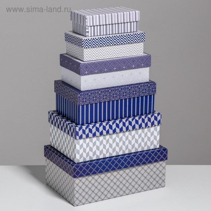 Набор коробок 10 в 1 «Орнамент», 32,5 × 20 × 12,5 - 12 × 7 × 4 см - фото 2