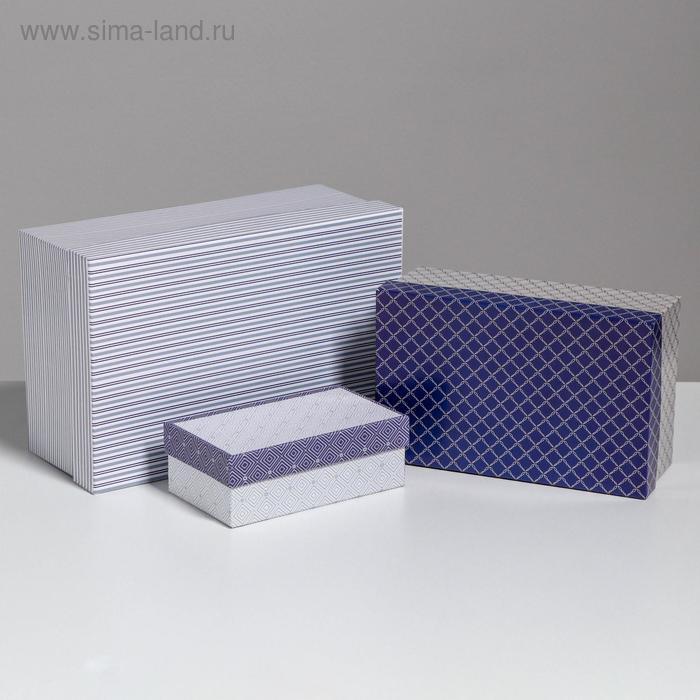 Набор коробок 10 в 1 «Орнамент», 32,5 × 20 × 12,5 - 12 × 7 × 4 см - фото 3