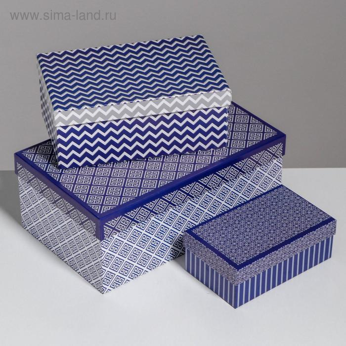 Набор коробок 10 в 1 «Орнамент», 32,5 × 20 × 12,5 - 12 × 7 × 4 см - фото 4