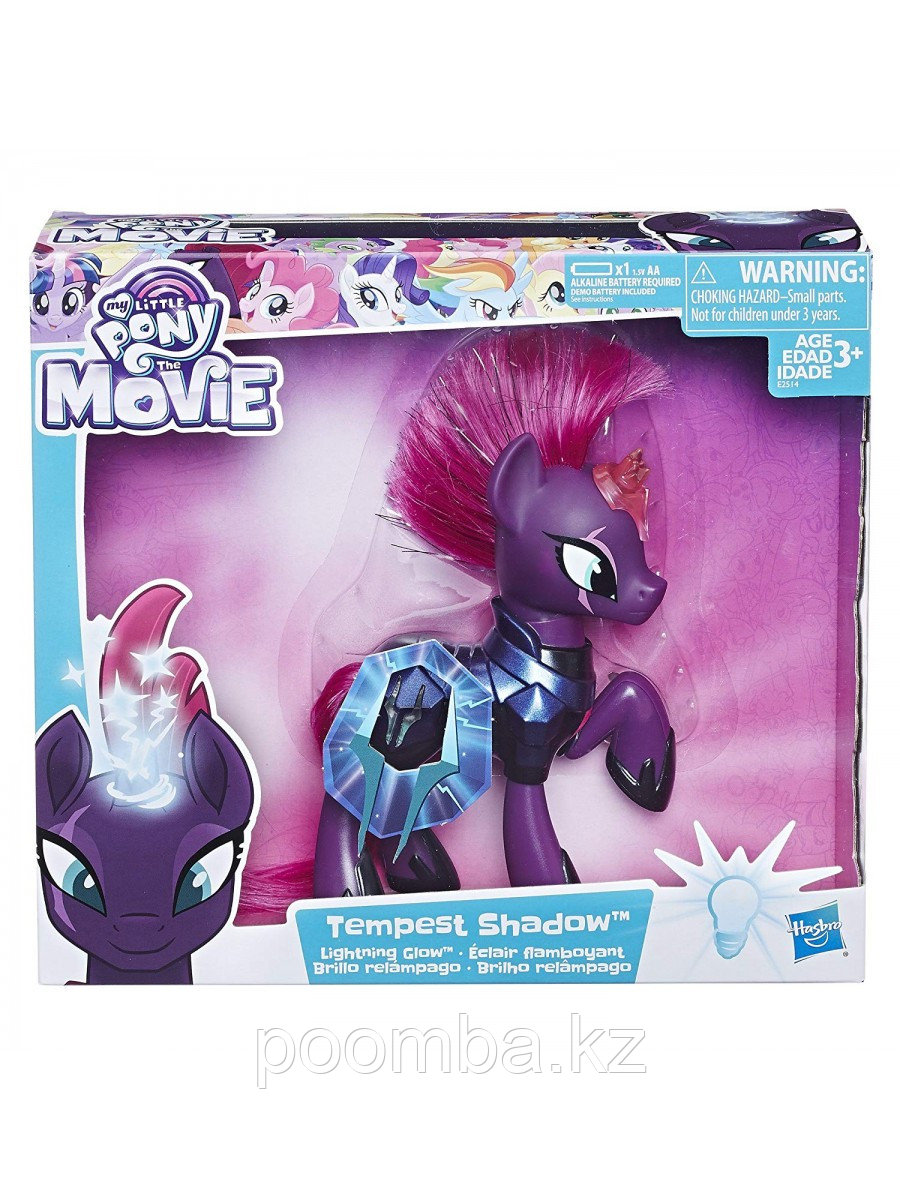 MLP Буря Пони Фигурка Hasbro Мой маленький пони Princess Tempest Shadow Темпест