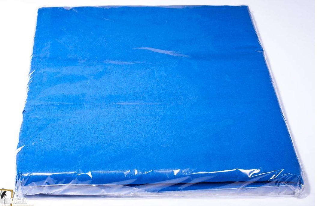Студийный тканевый синий фон ширина 2.3 м Высота на выбор