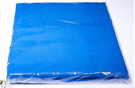 Студийный тканевый синий фон ширина 2.3 м Высота на выбор, фото 2