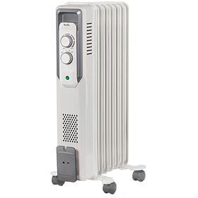 Радиатор масляный Ballu BOH/CB-07W, 1500Вт, 7 секций, до 20м2, механич. тип, белый BOH/CB-07W