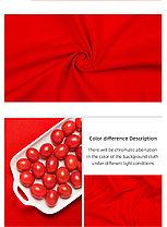 Студийный тканевый красный фон 5 м × 2,3 м, фото 2