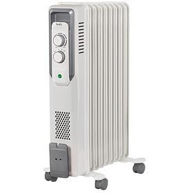 Радиатор масляный Ballu BOH/CB-09W, 2000Вт, 9 секций, до 25м2, механич. тип, белый BOH/CB-09W