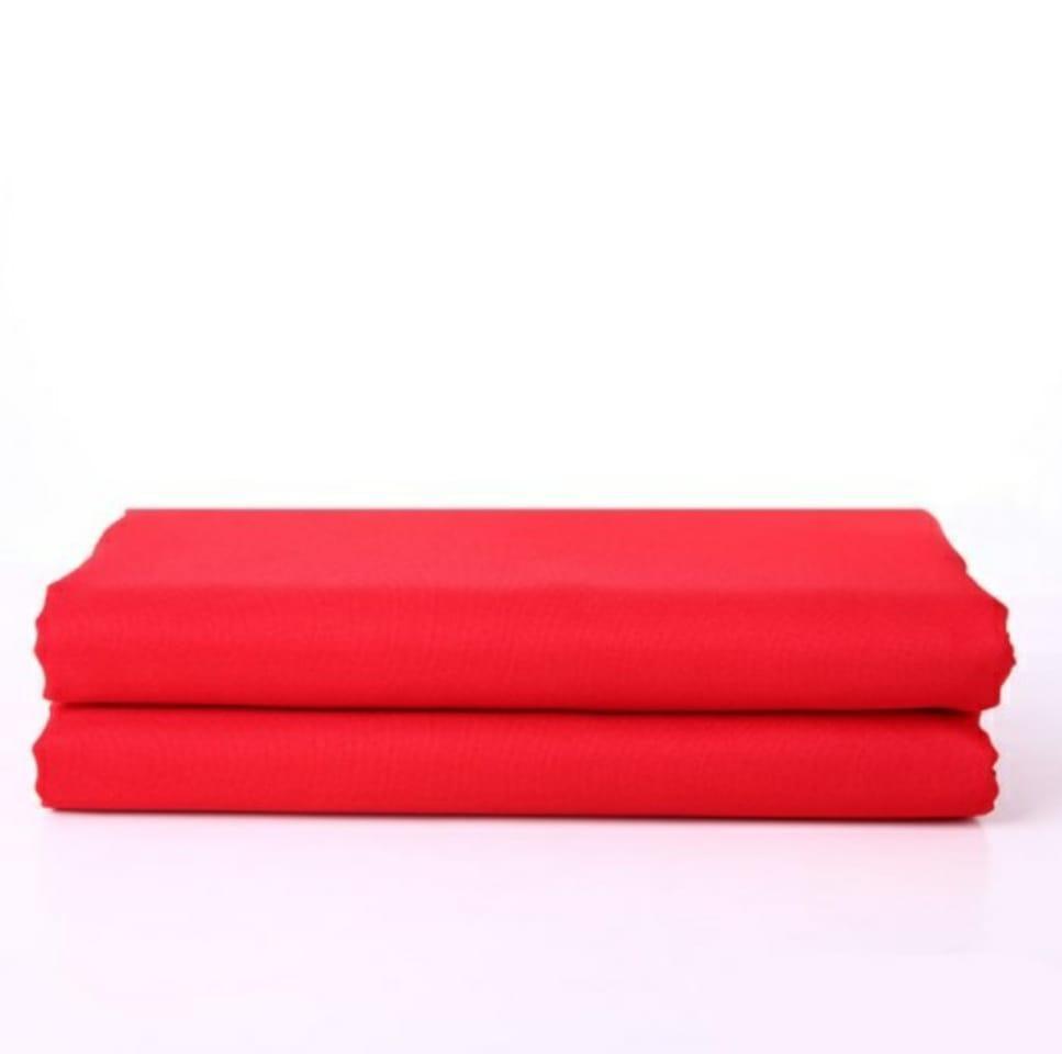 Студийный тканевый красный фон 4 м × 2,3 м