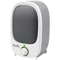 Тепловентилятор-мини Ballu BFH/S-03N, 900Вт, спираль. нагрев. элемент, серый/белый