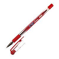 Ручка шариковая LINC Glycer 0,7 мм красная резиновый грип  Linc