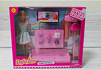 Кукла Гостиная с аксессуарами Defa Lusy