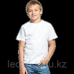 """Футболка детская, для сублимации Прима-Лето микрофибра """"Fashion kid"""" цвет: белый, размер 24 (рост 98)"""