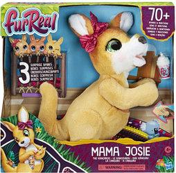 Hasbro FurReal Friends Интерактивная игрушка Кенгуру Джози и ее малыши