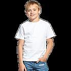 "Футболки детские, для сублимации Прима-Лето микрофибра ""Fashion kid"" цвет: белый"