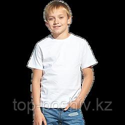 """Футболка детская, для сублимации Прима-Лето микрофибра """"Fashion kid"""" цвет: белый, размер 26 (рост 104)"""