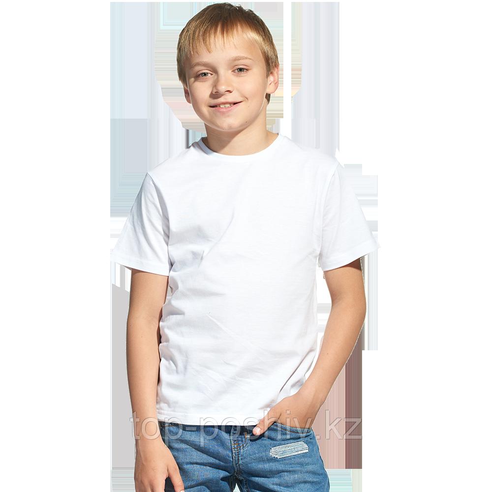 "Футболка для сублимации Прима-Лето микрофибра ""Fashion kid"" цвет: белый, размер 28"