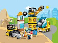 LEGO DUPLO 10932 Шаровой таран, конструктор ЛЕГО