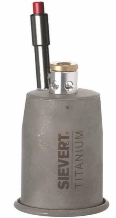 Титановый наконечник (сопло) с пьезоподжигом 70мм Sievert PRO88