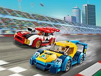 LEGO City 60256 Гоночные автомобили, конструктор ЛЕГО
