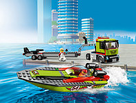 LEGO City 60254 Транспортировщик скоростных катеров, конструктор ЛЕГО