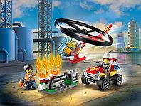 LEGO City 60248 Пожарный спасательный вертолёт, конструктор ЛЕГО