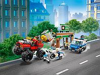 LEGO City 60245 Ограбление полицейского монстр-трака, конструктор ЛЕГО