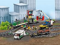 LEGO City 60198 Товарный поезд, конструктор ЛЕГО