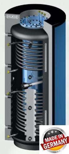 Бойлер емкостные напольные - косвенного нагрева BS 2000 - фото 3