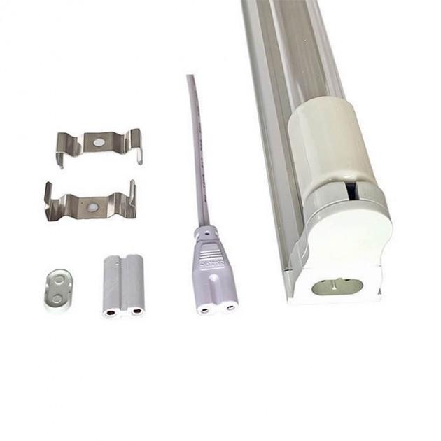 Кварцевая бактерицидная лампа с креплением на стену 20W (T8UVC), 60 см - фото 4