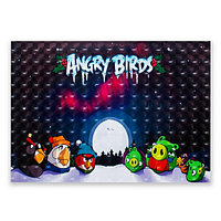 """Наклейка для ноутбука Angry Birds 15"""""""
