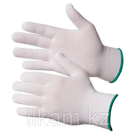 Перчатки нейлоновые чистые белые Gward Touch, фото 2