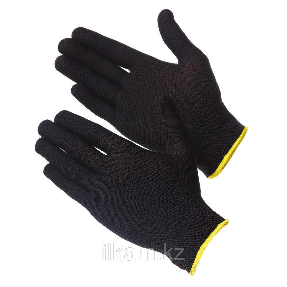 Перчатки нейлоновые чистые черные Gward Touch Black