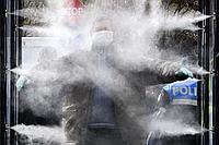 Система распыления воды в виде тумана EW112C, 20 форсунок, труба 20 м
