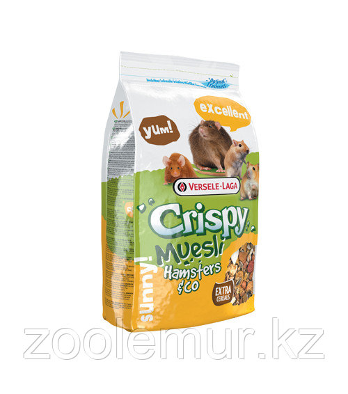 Versele-Laga CRISPY Muesli Hamster корм для хомяков 400 гр.