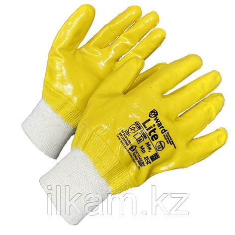 Перчатки маслобензостойкие,целиком покрытие премиум-нитрилом перчатки,Gward Lite, фото 2