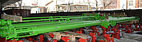 Транспортёр шнековый 8 метров (привод от ВОМ и эл.двигателя)