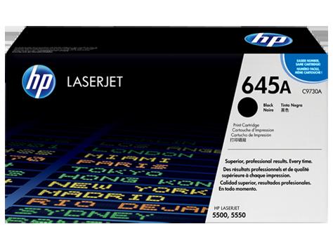 HP C9730A Картридж лазерный HP 645A черный, ресурс 13000 стр
