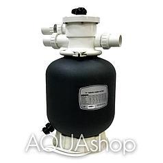 Фильтр для бассейна Aqualine P400 (D400)(6,12m3/h, 400mm, 35kg, верх)