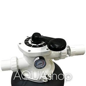 Фильтр для бассейна Aqualine P400 (D400)(6,12m3/h, 400mm, 35kg, верх), фото 2