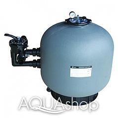 Фильтр для бассейна Aqualine SP500 (10,8m3/h, 527mm, 85kg, бок)