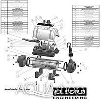 Электронагреватель Elecro Nano Spa N-SPA-S6-R (Incoloy, 6 кВт, 230В), фото 3