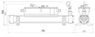 Электронагреватель Elecro Flow Line 83СВ (Incoloy, 18 кВт, 400В), фото 2