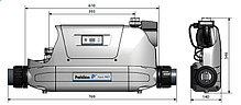 Теплообменник Aqua MEX FE 70 kW Titanium (титан), фото 2