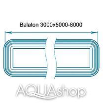 Композитный бассейн Балатон Макси 8м*3м*1,7м, фото 2