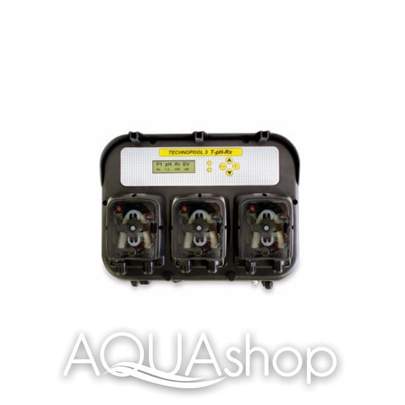 Станция контроля и дозирования TECHNOPOOL 3 PH/RX/TIMER + монтажный комплект