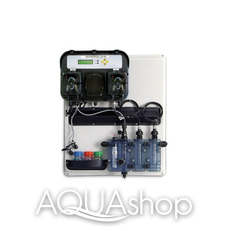 Станция контроля и дозирования A-TECHNOPOOL PH-RX (на панели) + монтажный комплект