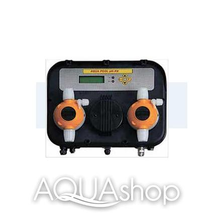 Станция контроля и дозирования AQUA-POOL PH-CL (10-10л/ч) + монтажный комплект, фото 2