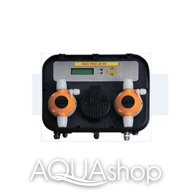 Станция контроля и дозирования AQUA-POOL PH-RX (5-5л/ч) + монтажный комплект
